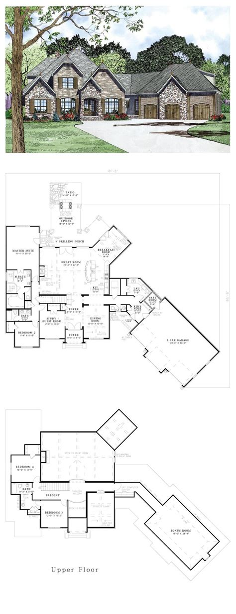 baby nursery french country cottage floor plans french