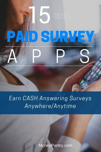 Best Survey Apps For Money - 15 best paid survey apps to make money earn cash gift cards moneypantry