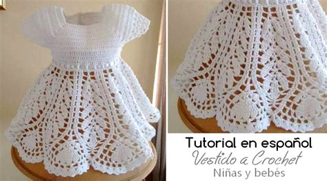 un pattern en espanol tutorial en espa 241 ol de vestido a crochet para ni 241 a guardar
