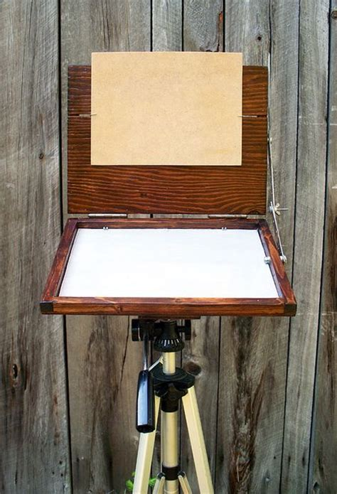build   plein air easel crafts diy projects