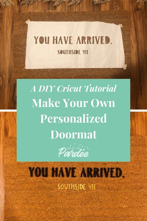 personalized doormat personalized door