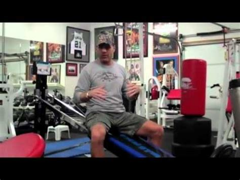 roman reigns bench press shawn michaels professional wrestler uses total gym youtube