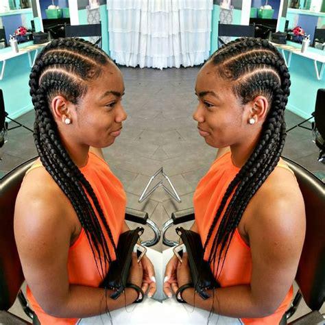 mzansi s straight back hair straight back feed in braids ghanabraids tastylist