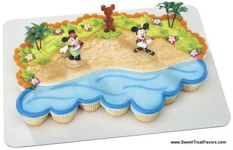 details  mickey minnie mouse cake topper decoration supplies hawaii luau huka tiki beach