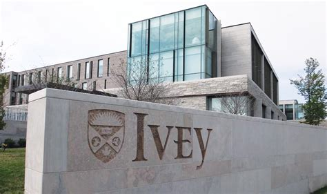 Ivey Part Time Mba by Ivey School Of Business Entro Communications