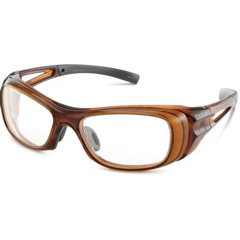 bolle skate prescription safety glasses wraparound frame