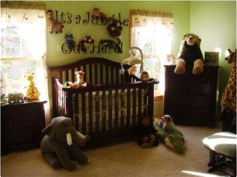 Jungle Themed Nursery Decor Jungle Themed Toddler Room Toddler Room