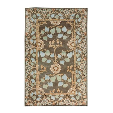 home decorators collection rugs home decorators collection patrician dark grey 8 ft x 11