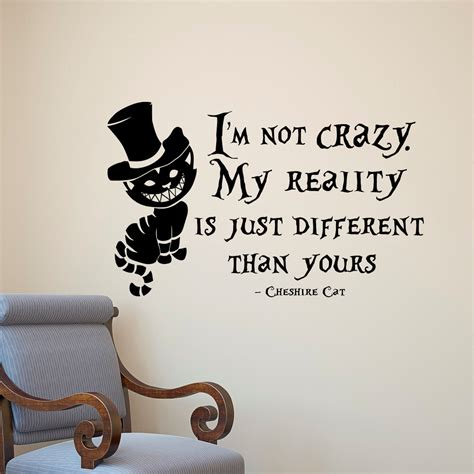 kids bedroom quotes aliexpress com buy alice in wonderland wall sticker