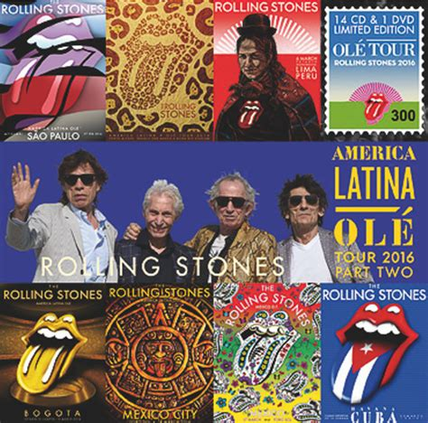 mundial 78 gs ole the rolling stones america latina ol 233 tour 2016 part two cd album at discogs