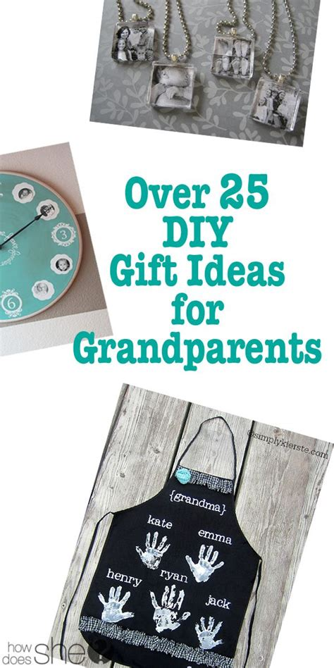 over 25 diy gift ideas for grandparents the christmas