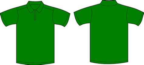 Kaos Apple By Bozz Jersey green polo shirt template templates station