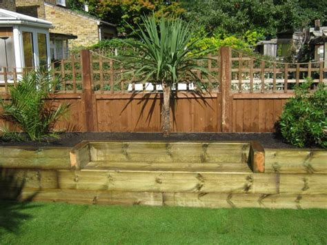 This Is An Amazing Design I Want This Raisedbeds Sleepers Garden Ideas