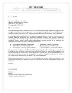 government resume cover letter exles 944