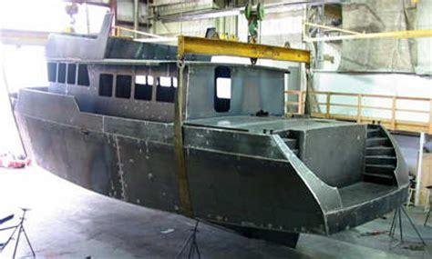 aluminium boat building kits trawler yacht 55 steel or aluminum boat kit passagemakers