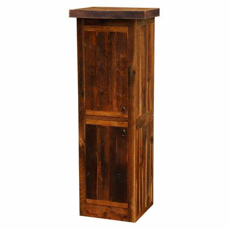 Barnwood Linen Cabinet 24 Inch