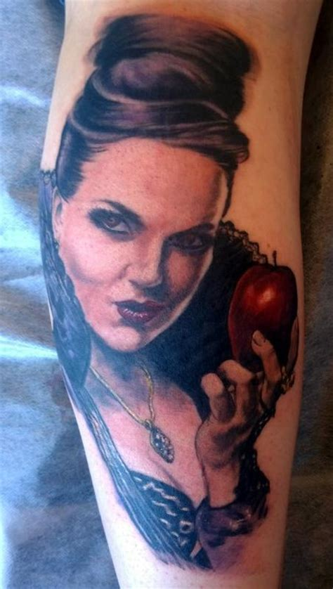 regina evil queen once upon a time tattoo by steve malley