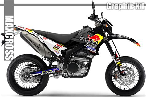 Yamaha Wr 250 X Sticker Kit by Yamaha Wr250r Wr250x All Years Maxcross Graphics Kit