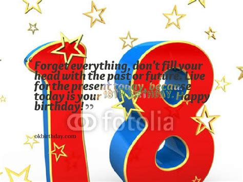 18 Year Birthday Quotes One S 18th Birthday Is A Huge Milestone In Life Birthday