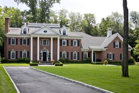 brick colonial house all brick colonial dream house exteriors