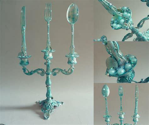 the little mermaid bathroom the little mermaid candelabra with dinglehopper door artofmarijke 85 00 sea love