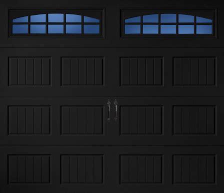 garage doors black john s garage door a400 black a one garage door
