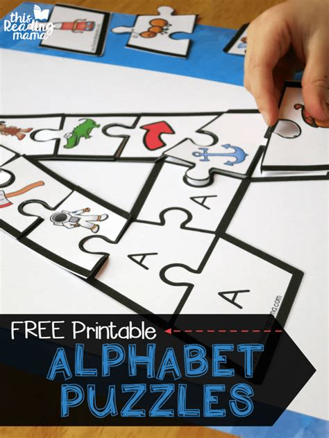 printable alphabet puzzles printable alphabet puzzles upper and lowercase letters