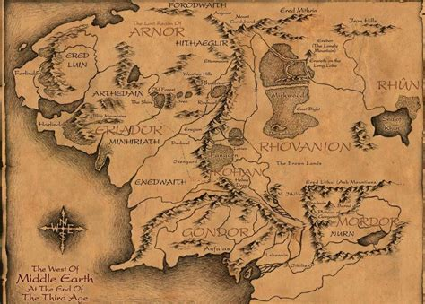 3d map of middle earth 135 why j r r tolkien is awesome typewriter monkey