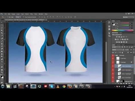 illustrator jersey tutorial shirt design template illustrator image collections