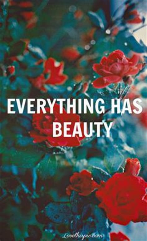 everything here is beautiful books quotes on special quotes flower