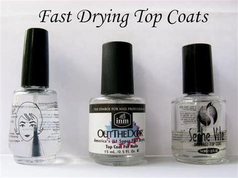 best fast drying top coat poshe out the door seche