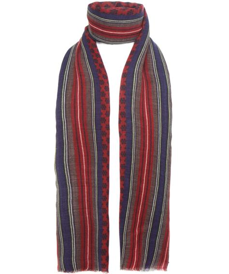 Striped Scarf jules b multi floral striped scarf available at jules b