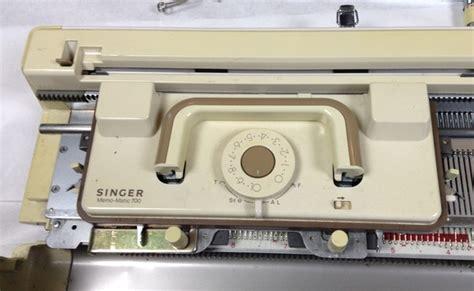 singer model 700 knitting machine singer memo matic 700 knitting machine w parts