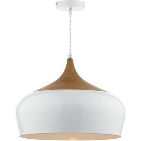 white wood pendant light gau08602 gaucho pendant dar gloss white ceiling light