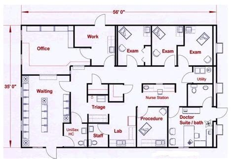 medical clinic floor plans doctor office layout google search studio v healthcare