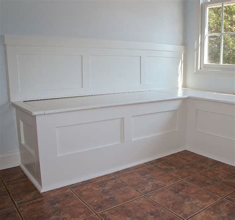 built in bench seat with storage ana white built in storage bench diy projects