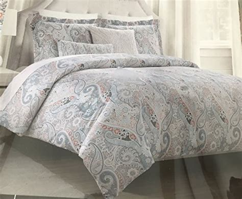 tahari bedding collection tahari bedding duvet cover set king 3 pc set paisley