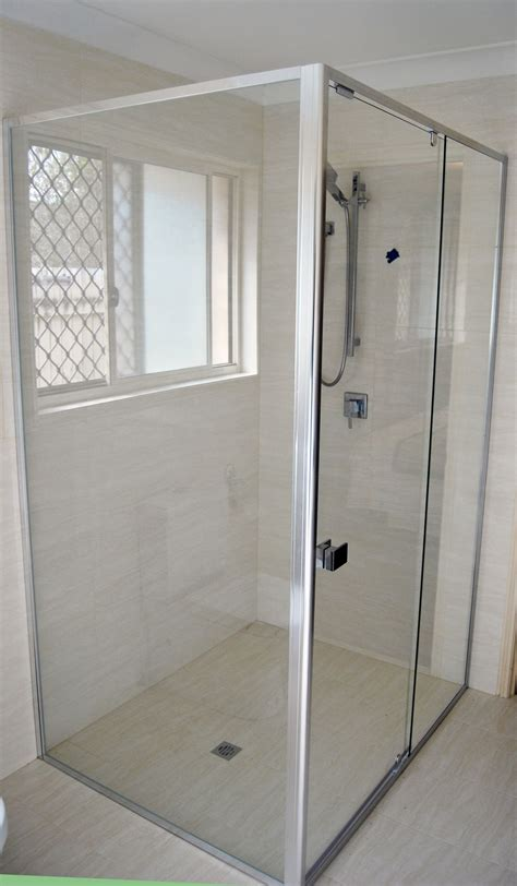 Commercial Bathroom Design by Draft Semi Frameless Shower Screens Australia Glass