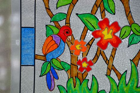 free glass painting the gallery for gt window glass painting designs for home