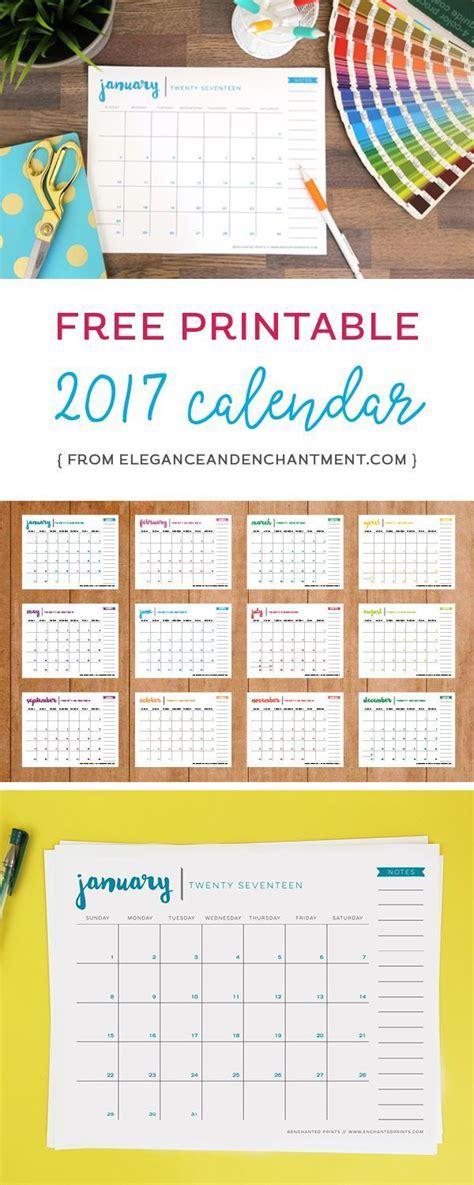 38 best diy printable 2017 calendars images on 40 best diy printable 2017 calendars images on free printables monthly calendars