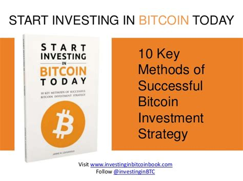 How To Invest In Bitcoin Stock 1 by Start Investing In Bitcoin Today Book Preview
