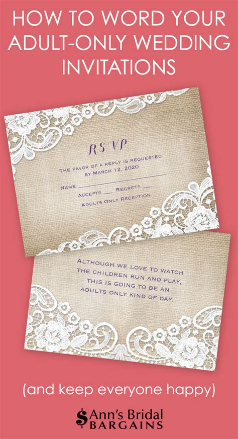 how to word a wedding invitation with no dinner how to word your only wedding invitations s