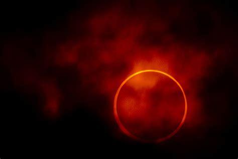 annular solar eclipse  nikon   nikkor mm