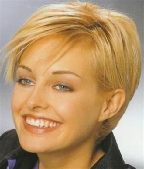 short hairstyles for women over 60 with round faces dark