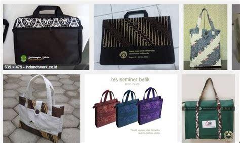 Tas Batok Kelapa Variasi Model Kancing 1 tas batik seminar bergaya etnik konveksi tas dan jasa
