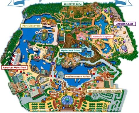 a tour of tokyo disneysea: history, layout and