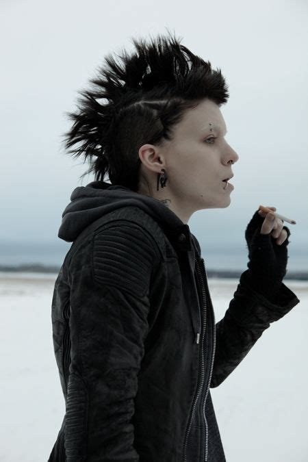 rooney mara dragon tattoo rooney mara as lisbeth salander in the with the