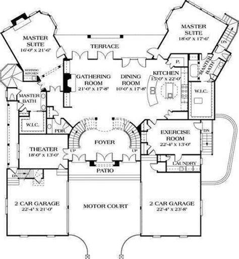 Dual House Plans by 44 Best Dual Master Suites House Plans Images On