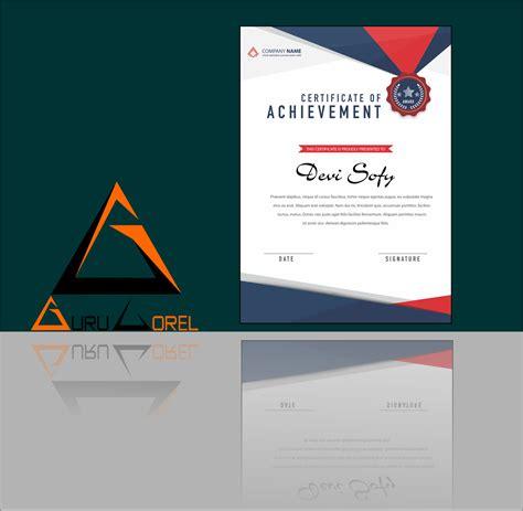 membuat kop surat dengan corel draw cara membuat sertifikat kegiatan seminar dengan coreldraw