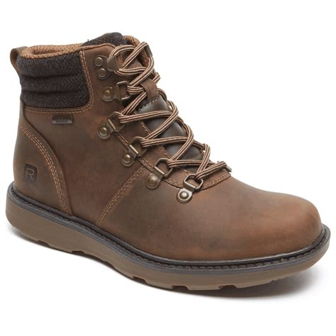 Caterpillar Safety Warna Suede boat builders d ring plaintoe boot rockport 174
